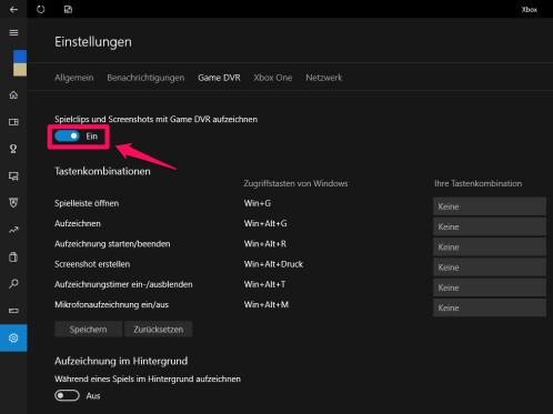 Windows So Deaktiviert Ihr Game DVR In Der XboxApp NETZWELT - Minecraft server erstellen xbox