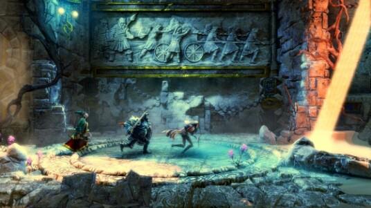 Das Side-Scrolling-Action-Adventure ist auch im Co-Op-Modus spielbar. Jeder Spieler übernimmt dabei einer der drei verfügbaren Charaktere. Dieser Trailer zeigt, wie Trine 2 sich mit mehreren Spielern spielen lässt und zeigt, das Spielen in Gesellschaft den Spielspaß um eine ganze Ecke erhöhen kann. Trine 2 erscheint für PC, PS3 und Xbox 360.