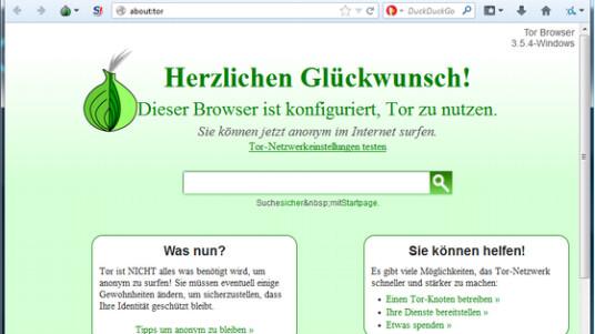 Mit dem Tor Browser surfen Sie anonym, da das Tool zum Schutz Ihrer Privatsphäre Ihre echten Daten verschleiert.