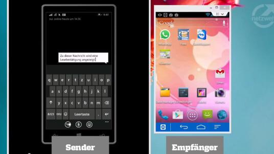 So geht's - WhatsApp Lesebestätigung unter Android mit Widget umgehen Thumbnail