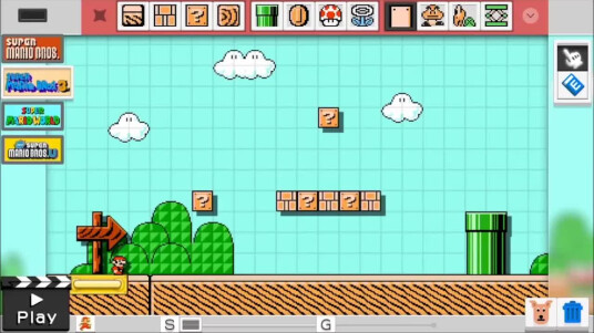 Mit der Ankündigung des Mario Game Makers belebt Nintendo die Spiele-Serie um den intalienischen Klempner Super Mario. Fans der Mario-Spiele haben nun die Möglichkeit ihr eigenen Level zu bauen. Dem Trailer nach zu urteilen bietet der Game Maker unzählige Möglichkeiten eure kreativen Ideen umzusetzen. Der Release soll noch im ersten Halbjahr 2015 für die Wii U erfolgen.