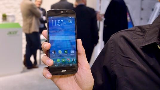 Mit dem Liquid Jade Z präsentiert Acer eine LTE-Variante seines dünnen Design-Smartphones Liquid Jade. Netzwelt hat auf dem MWC in Barcelona einen ersten Blick auf das Smartphone geworfen.