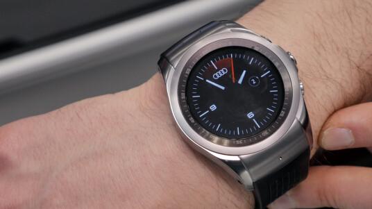Auf dem MWC testen wir das Audi mobile Key-System im Zusammenspiel mit der LG Watch Urbane LTE.
