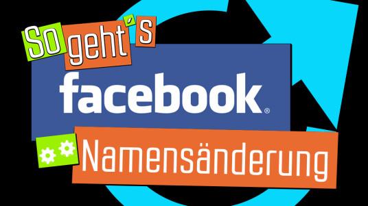 Du willst deinen Namen im Sozialen Netzwerk ändern? Das ist ganz leicht. Geht aber nur alle 60 Tage.