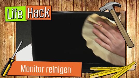Staub nervt. Besonders auf dem Monitor. Wer seinen Bildschirm allerdings schon mal mit einem feuchten Lappen abgewischt hat, weiß, was das für Schlieren hinterlässt. Mit unserem Tipp bekommt ihr euren Monitor schnell und einfach sauber – und das streifenfrei.