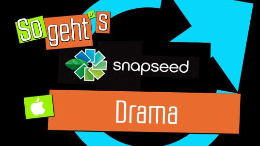 Snapseed: Drama