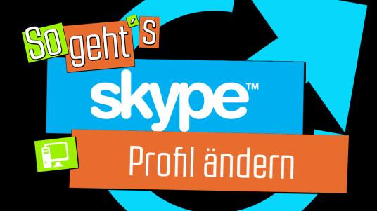 So geht's Skype: Profil ändern