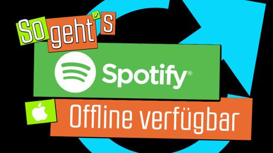 Spotify: Offline verfügbar für iOS
