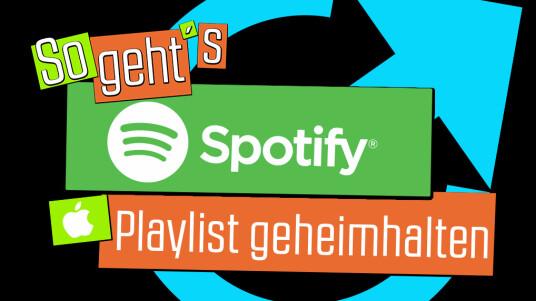 Du schämst dich für eine Playlist, weil sie vielleicht nur Schmuse-Balladen von Celine Dion enthält oder hast einfach keine Lust darauf, das all deine Freunde mitbekommen, was du in deiner Freizeit für Musik hörst. In Spotify kannst du natürlich auch all deine Playlist geheim halten. Wir zeigen euch, wie das geht.