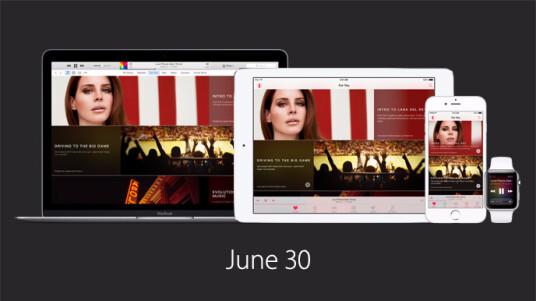 Apple Music startet am 30. Juni auf iOS-Geräten und Mac. Ab Herbst gibt es den Streaming-Dienst dann auch für Windows und Android.