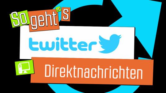Twitter: Direktnachrichten