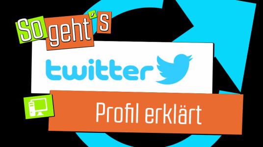 Twitter: Profil erklärt