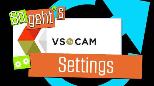 VSCO Cam: Settings