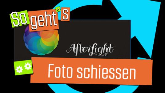 Afterlight: Foto schiessen