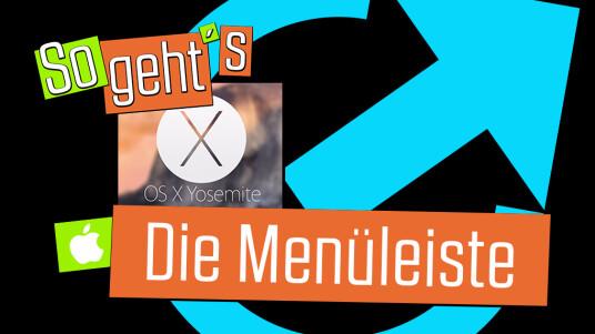 OS X 10.10 Yosemite: Die Menüleiste erklärt