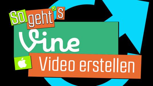 Vine: Video erstellen