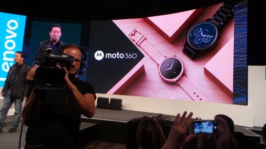 Motorola stellt eine neue Generation der Moto 360 vor.