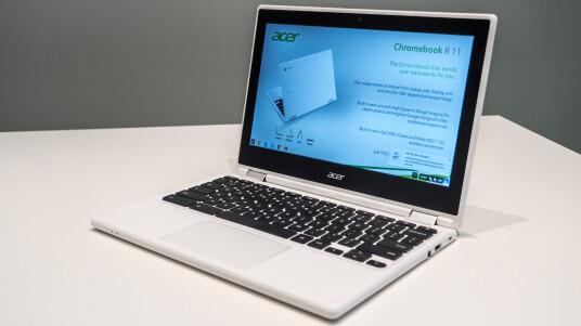 Auf den Chromebooks soll ab 2017 Android als Betriebssystem zum Einsatz kommen.