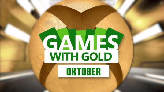 Xbox Games with Gold: Die Gratis-Spiele im Oktober
