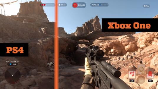 Star Wars: Battlefront im Grafikvergleich