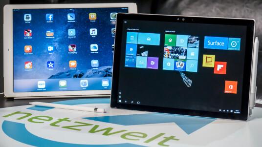 Videovergleich: iPad Pro vs. Surface Pro 4
