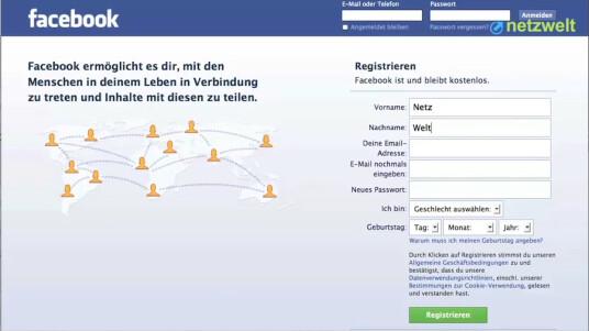 So geht's: Facebook - Account erstellen