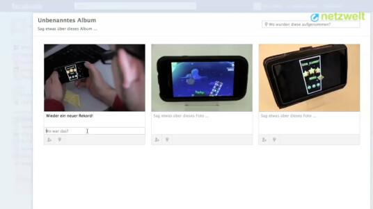 So geht's: Facebook - Fotoalbum erstellen