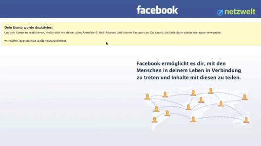 So geht's: Facebook - Account löschen
