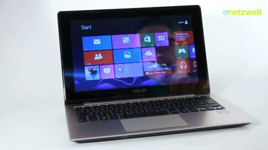 Asus VivoBook S200E im Test: Subnotebook mit Touchscreen