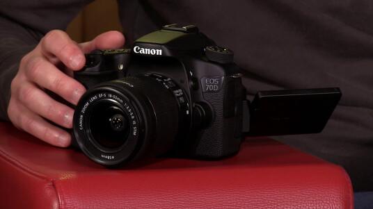 Die Eos 70D ist die erste und bislang einzige DSLR mit Dual Pixel CMOS-Autofokus von Canon. Die Kombination aus schnellem Autofokus und beweglichem Display könnten die 70D perfekt für Videographer machen - Zeit für ein Fazit inklusive Stellungsnahme zur aktuellen Fokus-Problem-Diskussion mit lichtstarken Objektiven.