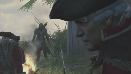Dieser Trailer zeigt die ersten Spielszenen aus dem Action-Adventure Assassin's Creed III. Die gezeigten Spielszenen entstammen dabei einer frühen Pre-Alpha-Phase der Entwicklung. Sie zeigen Connor, die Spielfigur von Assassin's Creed III, wie dieser akrobatische Höchstleistungen vollbringt und gegen britische Rotröcke kämpft.