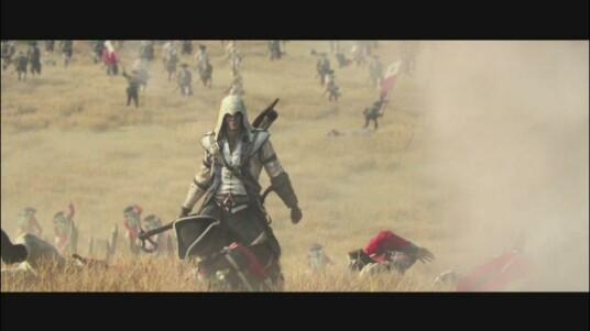 Die amerikanische Welt um das Jahr 1775 ist geprägt vom aufkeimenden Unabhängigkeitskrieg. Zu dieser brutalen Zeit spielt der neueste Ableger der Action-Adventure-Reihe: Assassin's Creed 3. In diesem Trailer zu sehen ist, was es heißt als eleganter Assassine mitten auf dem Schlachtfeld zu stehen. Ein feindlicher General muss ausgeschaltet werden, aber seine riesige Armee steht im Weg? Dieser Trailer zeigt, wie der Spieler in Assassin's Creed 3 mit so einer Situation umgeht.