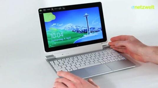 Das Windows 8-Tablet Acer Iconia W510 verwandelt sich im Handumdrehen zum Netbook - dank der im Lieferumfang enthaltenen Tastatur. Im Test fällt der schwache Prozessor negativ auf - dennoch ist das Acer-Gerät für manche Nutzer eine gute Wahl.