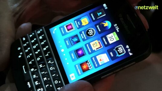BlackBerry Q10 im Kurztest