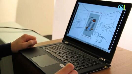 Gelenkig: Lenovo IdeaPad Yoga 13 im Test