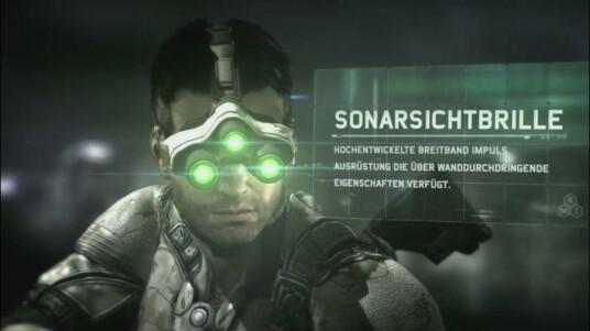 Splinter Cell: Blacklist - E3 2012 Ausrüstung-Trailer