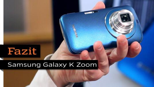 Fazit zum Samsung Galaxy K Zoom