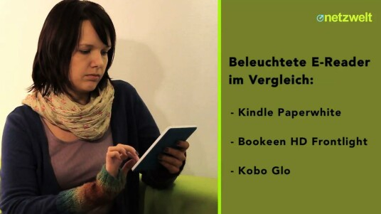 Kobo glo, Kindle Paperwhite und Bookeen HD Frontlight im Vergleichstest
