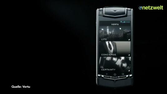 Vertu Ti: Android-Smartphone für 7.900 Euro vorgestellt