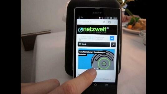 Sony meldet sich mit dem Xperia Z im Kampf um den Smartphone-Thron  zurück. Netzwelt konnte sich in München einen ersten Eindruck vom Gerät  machen.