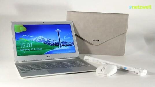 Das Acer S7 mit elf Zoll großem Touchscreen schlägt sich im Test sehr gut. Das müssen auch eingefleischte Apple-Anhänger eingestehen. Zudem kostet es in Top-Ausstattung weniger als das MacBook Air aus Cupertino.