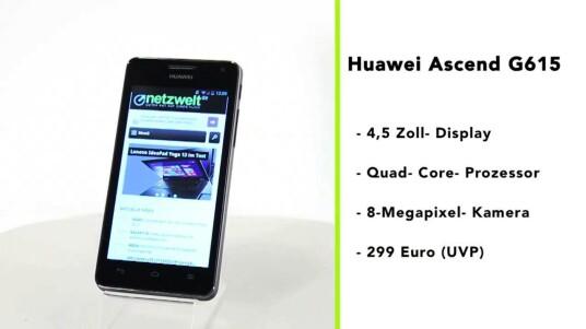Huawei Ascend G615 im Test