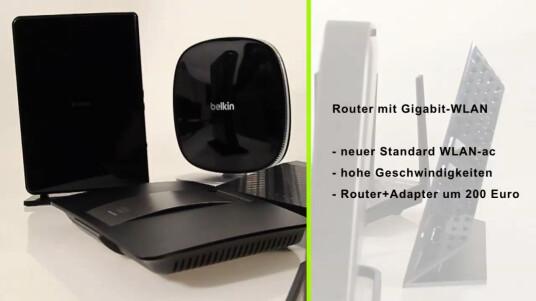 Der neue WLAN-Standard ac ist noch nicht final, die Router-Hersteller haben aber schon Modelle mit Unterstützung für die neue Funktechnik auf dem Markt. Netzwelt testete sechs WLAN ac-Router.