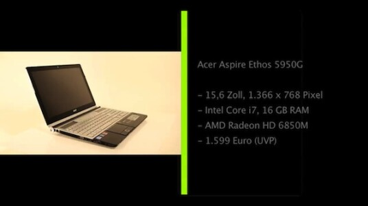 Acer Aspire Ethos 5950G