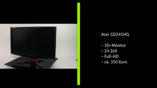 Die Anschaffung des Acer GD245HQ lohnt sich vor allem für Gamer, da sich vor allem Computerspiele auf dem 120-Hertz-Monitor in 3D betrachten lassen. Auch Abseits der räumlichen Ansichten überzeugt der Monitor, ist jedoch teurer als vergleichbare Geräte ohne 3D-Technik.