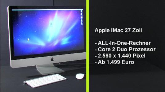 Mit dem neuen iMac gelingt Apple im wahrsten Sinne des Wortes ein ganz großer Wurf. Die Verarbeitung ist perfekt, die Leistung bereits in der Grundausstattung mehr als ausreichend und die Anziehungskraft des Design-Gehäuses lässt auch nach mehrwöchigem Einsatz nicht nach.