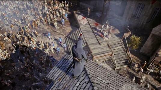 Die Enthüllungen um Assassin´s Creed Unity (ACU) mehren sich, Ubisoft zeigte zum Start der E3 2014 unter anderem ein acht minütiges Gameplay-Video zur Einzelspieler-Kampagne. Als Arno Dorian kämpft ihr im Schatten der Französischen Revolution für die Assassinen. Neu ist neben dem Koop-Modus, der per Knopfdruck aktivierte Stealth-Modus. Auch das begehen von Wohnhäusern der offenen Spielwelt ist keine Selbstverständlichkeit in Assassin´s Creed. Ubisoft will ACU am 28. Oktober 2014 für PS4, Xbox One und PC veröffentlichen.