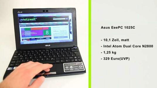 Asus EeePC 1025C