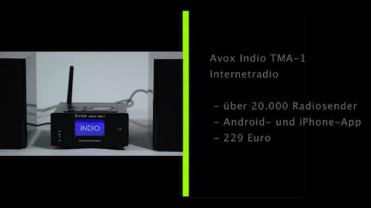 Das Internetradio Indio TMA-1 des Norderstedter Herstellers Avox kommt mit Empfang von über 20.000 Radiosendern, schnellem WLAN und 24 Watt Ausgangsleistung. Im Test hinterließ das Gerät einen zwiespältigen Eindruck.