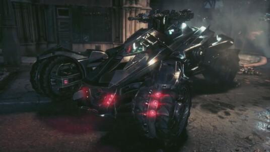 To the Batmobile, lets `go!  Wie wir alle wissen wäre Batman ohne seine Technikgadtes in den dunklen Gassen von Gotham City nicht überlebensfähig. Sein wichtigstes und berühmtestes Technikspielzeug ist sein Batmobil. Dieses wird in nahezu jeder Neuauflage redesigned und mit unterschiedlichen Features ausgestattet. Die kommende Version des Gefährts in Arkham Knight schaut Ihr Euch im Trailer an. Fahren könnt Ihr das neue Batmobil auf PS4, Xbox One und PC.